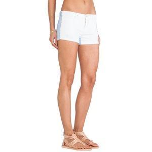 NWT BlankNYC Little Queenie Two-Tone Denim Shorts